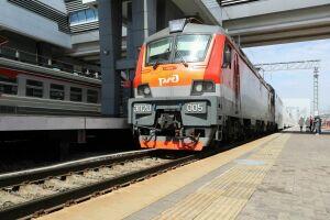 В Казань прибыл первый прямой поезд из Минска