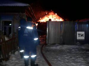 В Мензелинске в частном доме из-за неисправного дымохода сгорел мужчина