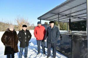 В двух селах Кайбицкого района РТ построили биотермические ямы