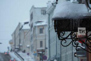 В Татарстане потеплеет до 8 градусов ниже нуля