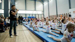 Олимпийские чемпионы провели в Казани мастер-класс для юных гимнастов Татарстана