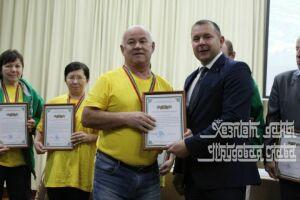 В Кукморском районе наградили спортсменов и активистов с ограниченными возможностями