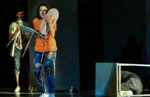 Нижнекамский ТЮЗ представит премьеру спектакля «Бог ездит на велосипеде»