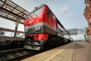 В новогодние праздники 17 дополнительных поездов свяжут Казань с другими городами России