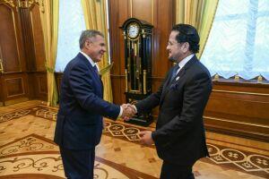 Рустам Минниханов обсудил сотрудничество с Чрезвычайным и Полномочным Послом ОАЭ в России