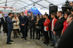 Министр промышленности России встретился с чемпионами WorldSkills из Татарстана