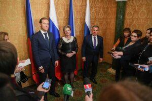Минниханов заявил о потенциале машиностроения в сотрудничестве Татарстана и Чехии