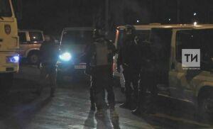 Появилось видео с места проведения спецоперации по ликвидации казанского стрелка