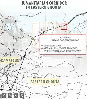 Минобороны РФ заявил о втором по счету срыве гуманитарной паузы в Гуте