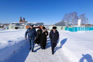 Митрополит Феофан вместе с осужденными восстановит церковь в мамадышской колонии