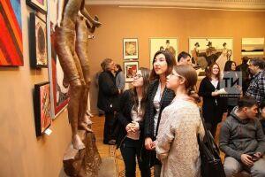В Казанской ратуше открылась выставка молодых художников Татарстана