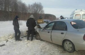Водитель из Кировской области пострадал в ДТП в Алексеевском районе Татарстана
