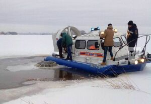 МЧС предупреждает об опасной полынье в Казани