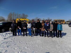 В Алексеевском районе закрыли лыжный сезон