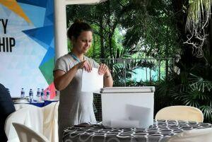 Татарстанские участникиЧМ пострельбе проголосовали навыборах Президента РФвМалайзии