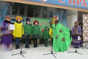 ВАзнакаево вдень выборов Президента РФотпраздновали Науруз-байрам