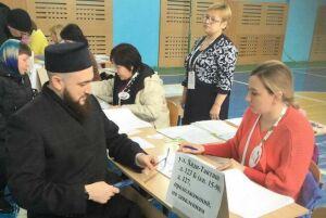 Муфтий Республики Татарстан проголосовал на выборах