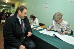 Алексей Песошин проголосовал навыборах Президента РФ