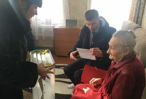 Четыре поколения одной семьи проголосовали в Мамадыше