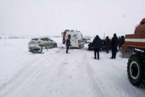 В аварии в Черемшанском районе пострадали четыре человека