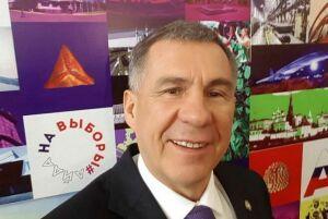 Рустам Минниханов принял участие в фотомарафоне «Айда на выборы»