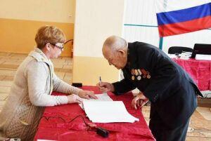 Ветеран ВОВ из Татарстана проголосовал на выборах Президента России