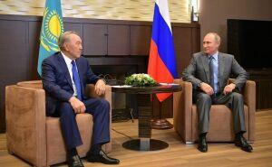 Назарбаев поздравил Путина с избранием на пост Президента РФ