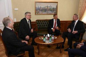 Рустам Минниханов предложил руководству кантона Женева развивать сотрудничество