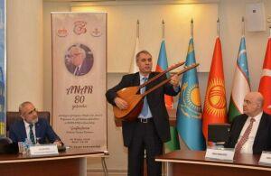 80-летие азербайджанского народного писателя Анара отметили в ТЮРКСОЙ