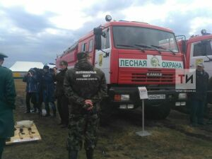 ВТатарстане подготовились ксезону лесных пожаров