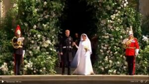 Принц Гарри и актриса Меган Маркл обвенчались