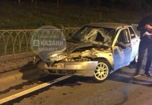 22-летний водитель «десятки» переломался в ДТП с «ГАЗелью» в Казани