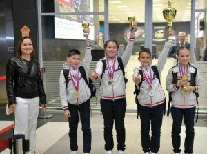 Казанские школьники взяли «серебро» на Всероссийском конкурсе «Безопасное колесо»