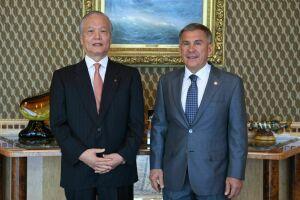 Президенту РТРустаму Минниханову презентовали японскую медицинскую корпорацию TMG