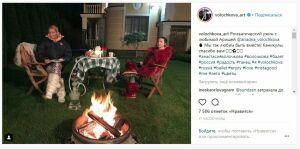 Волочкову осудили за романтический ужин с дочерью и кальяном