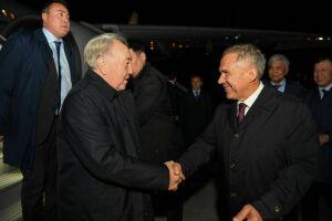 Нурсултан Назарбаев прибыл с рабочим визитом вКазань
