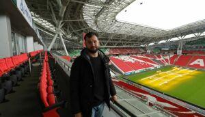 Стендап-комик Андрей Скороход переночевал на стадионе Kazan-Arena