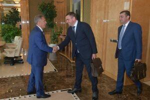 Рустам Минниханов обсудил сотрудничество с главой компании «Ромекс-Кубань»