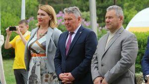 Рафис Бурганов открыл профильную смену в лагере «Костер» для 250 юных техников