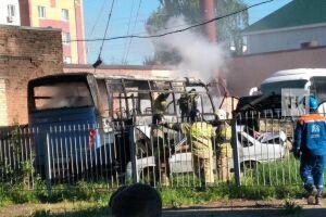 Зеленодольскими «поджигателями» автобуса оказались ученики второго класса