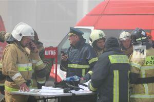Пожар в казанском ТЦ «Порт» локализован