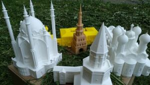 3D макеты достопримечательностей Казани изготовлены для слепых и слабовидящих