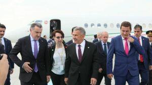 Рустам Минниханов принимает участие в церемонии инаугурации Президента Турции