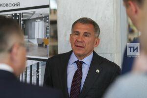Минниханов заявил обинтересе Сбербанка всоздании центра исламской экономики вРТ