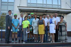 В Пестрецы прибыли незрячие участники веломарафона Астана – Париж