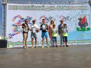 В Казани состоялся турнир по дворовой футбольной игре «Квадрат»