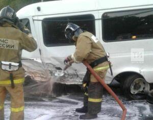 В Высокогорском районе РТ три человека пострадали в крупной аварии