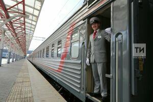 Бесплатными поездами вКазани вовремяЧМ воспользовались 50тыс. человек