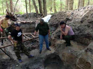 Приставы из Татарстана нашли в Карелии останки 21 бойца