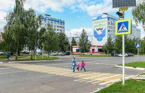 К 1 сентября в Нижнекамске построят шесть дорожных переходов